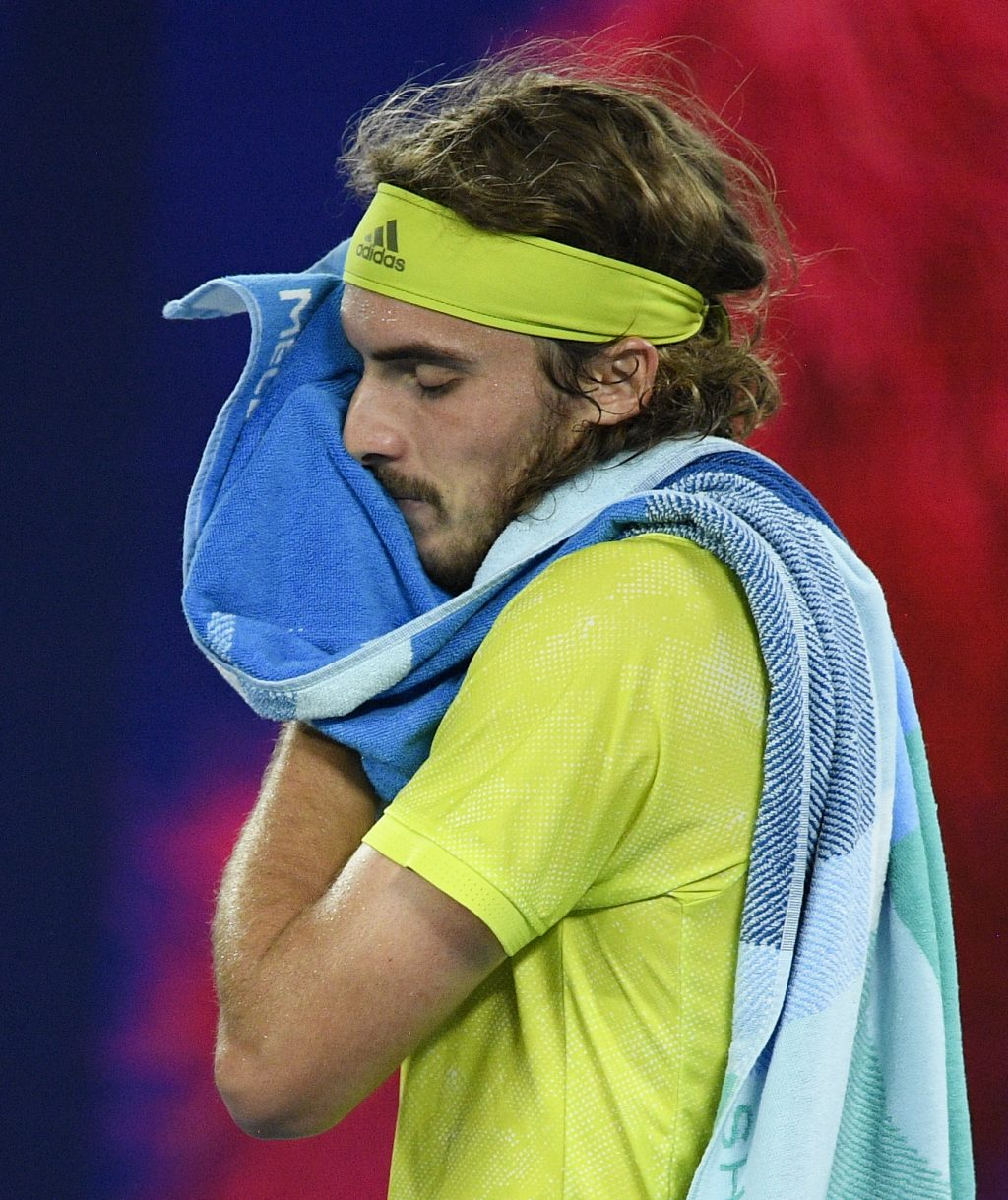 Stefanos Tsitsipas disappointed