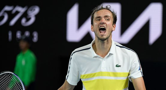 Daniil Medvedev delighted