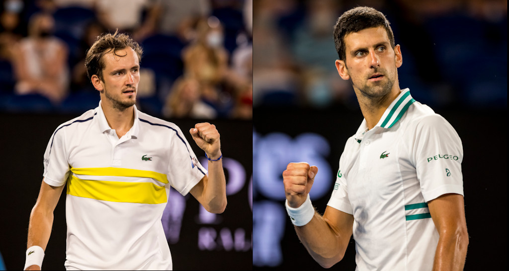 Novak Djokovic v Daniil Medvedev 2021 Australian Open men's final