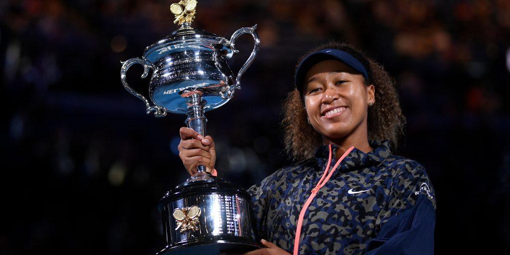 Naomi Osaka 2021 Australian Open champion