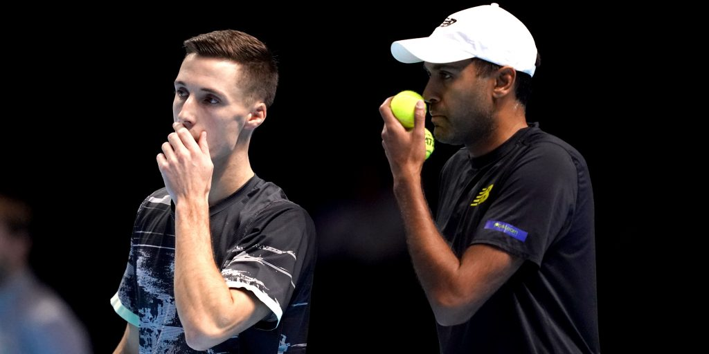 Joe Salisbury and Rajeev Ram