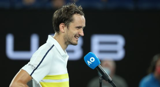 Daniil Medvedev post-match interview