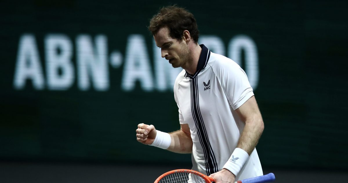 Andy Murray back in action