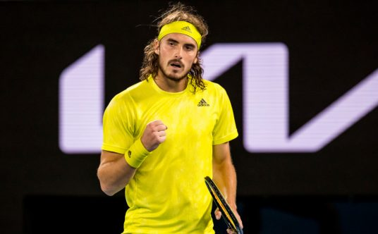 Stefanos Tsitsipas pleased