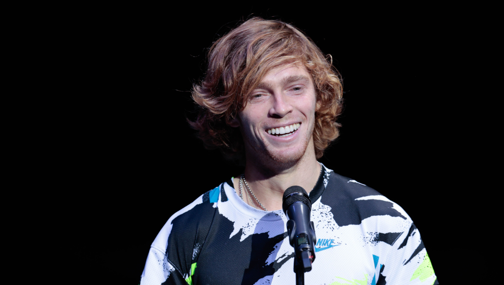Andrey Rublev on-court interview