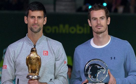 Novak Djokovic and Andy Murray Qatar Open Doha