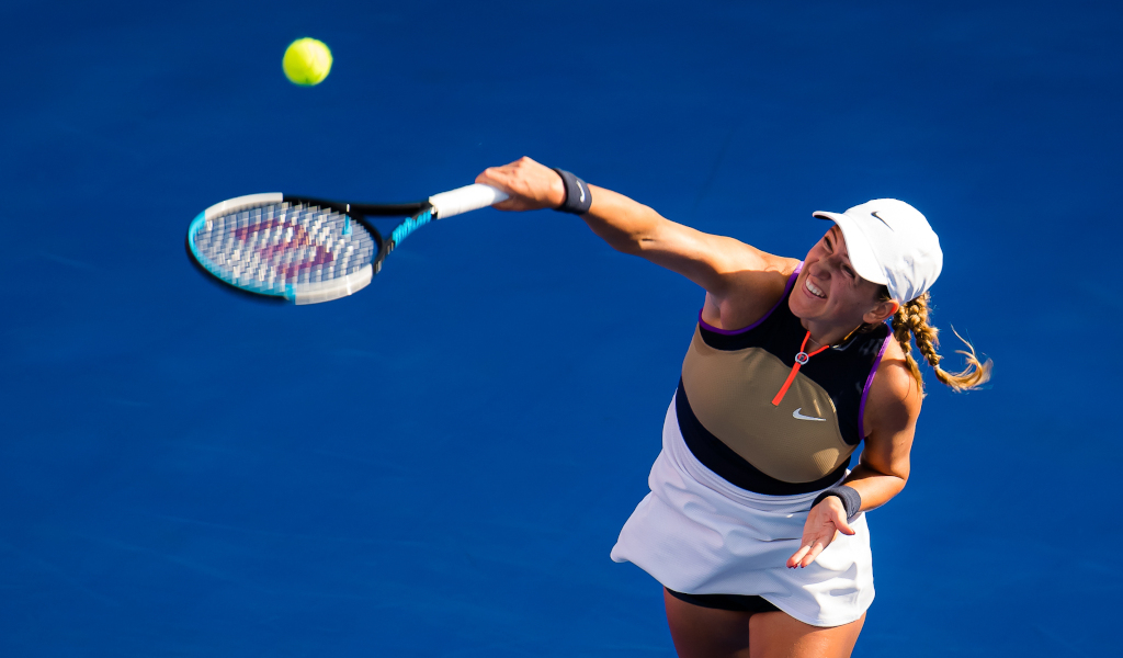 Victoria Azarenka in action