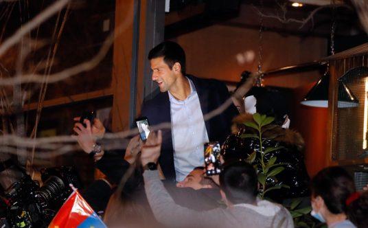 Novak Djokovic celebrates 311 as world No 1