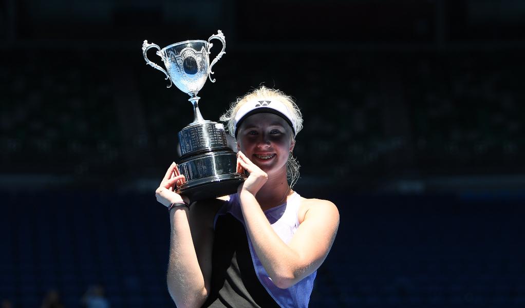 Clara Tauson Australian Open Girls' Champion