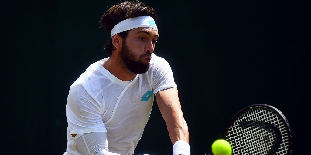 Nikoloz Basilashvili in action