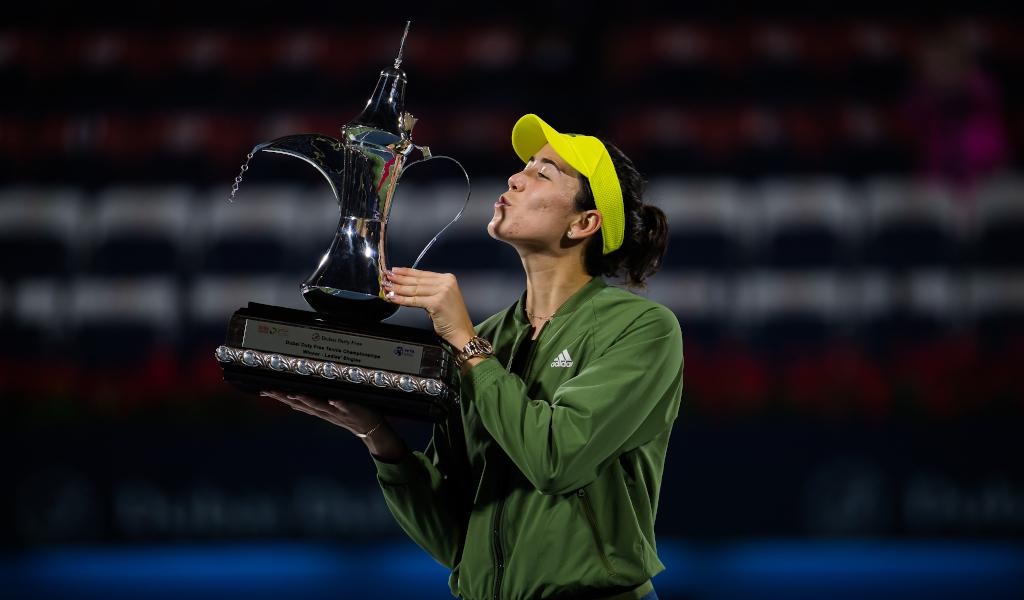 Garbine Muguruza Dubai Tennis Championships winner
