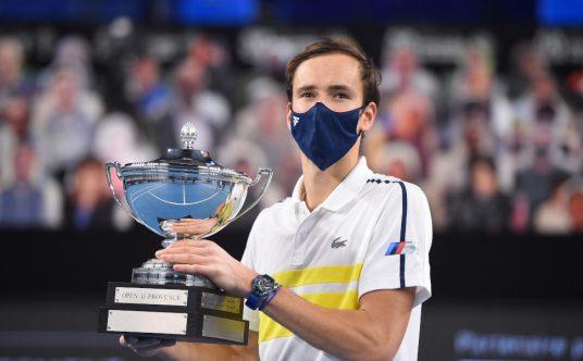 Daniil Medvedev Open 13 champion