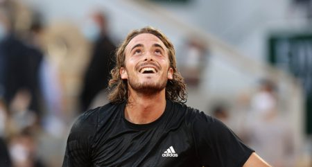 Stefanos Tsitsipas delighted