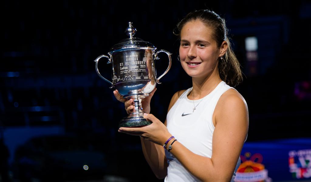 Daria Kasatkina St Petersburg Open champion