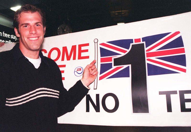 Greg Rusedski British No 1