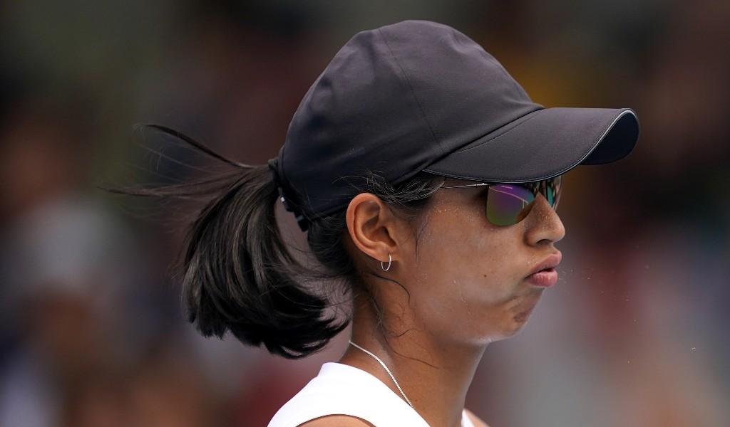 Astra Sharma frustrated
