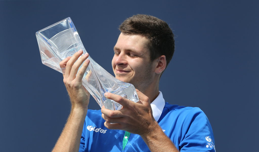 Hubert Hurkacz Miami Open champion