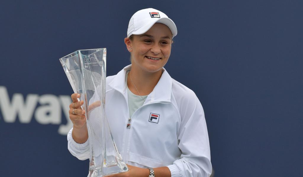 Ashleigh Barty Miami Open champion