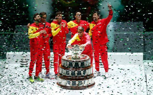 2019 Davis Cup Finals champions Spain