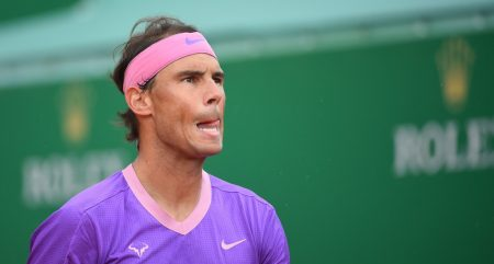 Rafael Nadal looking ahead