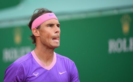Rafael Nadal looking ahead