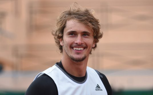 Alexander Zverev pleased with himself