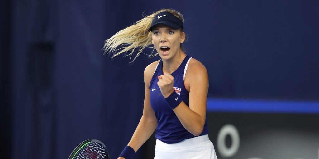 Katie Boulter delighted