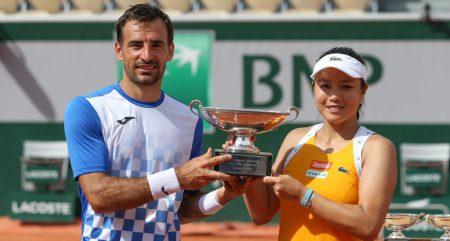 Ivan Dodig and Latisha Chan French Open champions