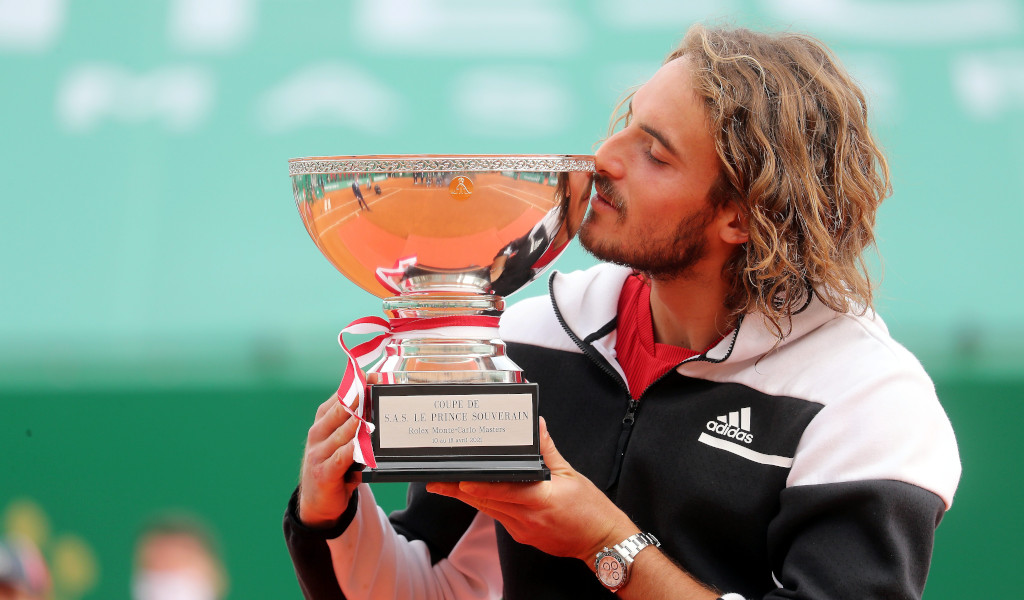 Stefanos Tsitispas Monte-Carlo Masters champion