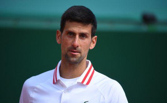Novak Djokovic looking ahead