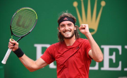 Stefanos Tsitsipas delighted