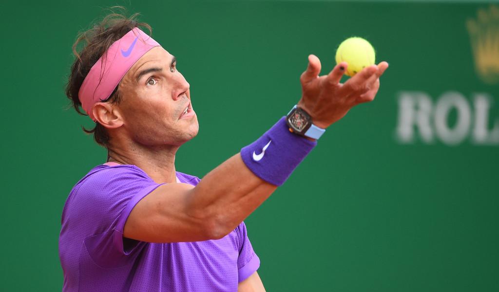 Rafael Nadal service motion