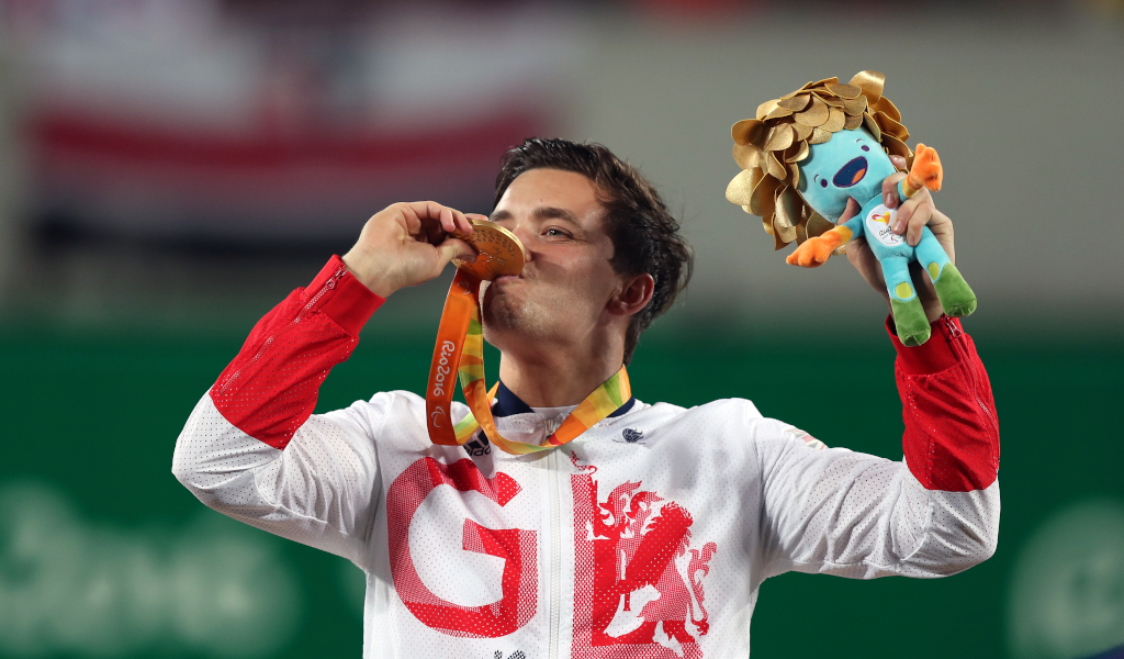 Gordon Reid Rio Games gold medallist