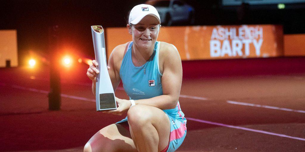 Ashleigh Barty wins in Stuttgart
