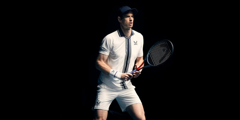Andy Murray wears AMC by Castore