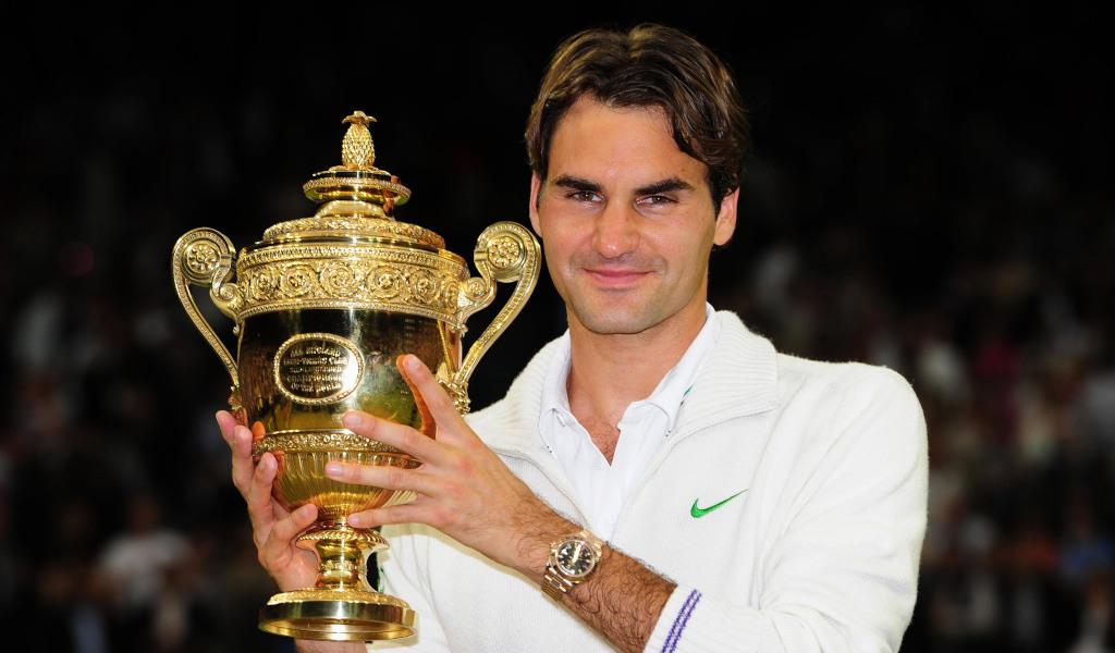 Roger Federer 2012 Wimbledon final cardigan