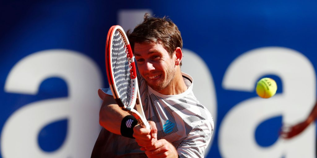 Cameron Norrie return