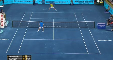 Madrid Open 2012 blue clay ATP Tennis TV