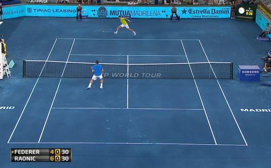 Madrid Open 2012 blue clay ATP Tennis TV