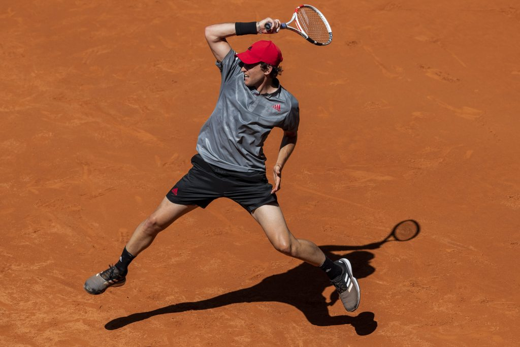 Dominic Thiem on the move