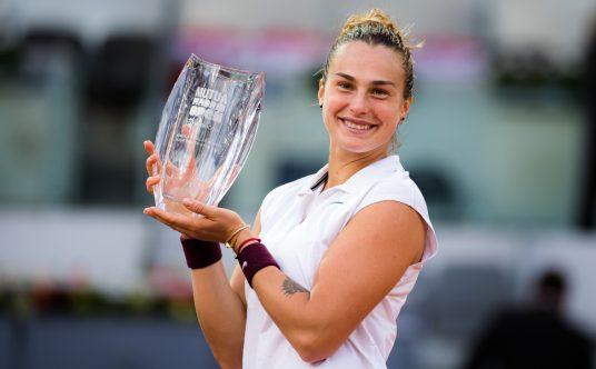 Aryna Sabalenka Madrid Open winner