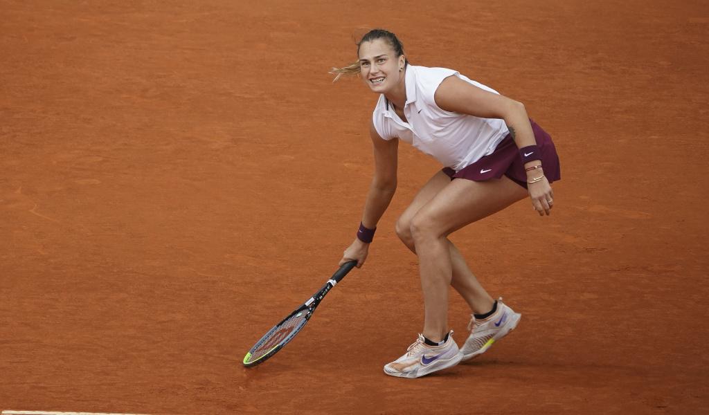 Aryna Sabalenka on clay