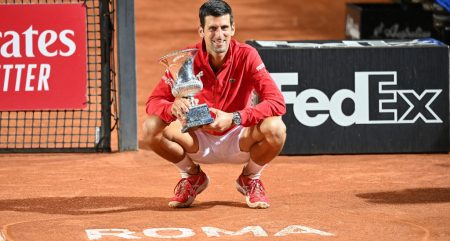 Novak Djokovic 2020 Italian Open champion