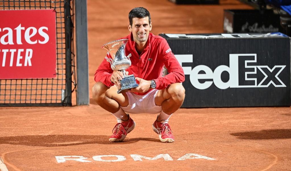 Novak Djokovic 2020 Italian Open champion