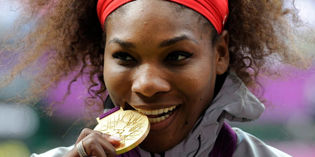 Serena Williams Olympic Gold Metalist