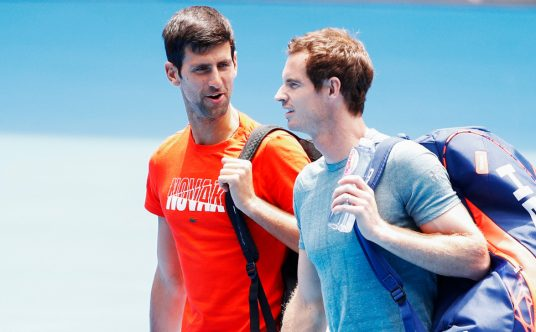 Novak Djokovic和Andy Murray
