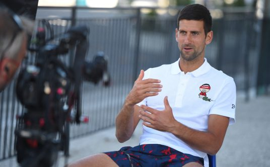 Novak Djokovic interview
