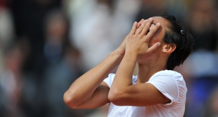 Francesca Schiavone delighted
