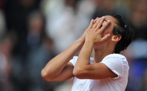 Francesca Schiavone delighted