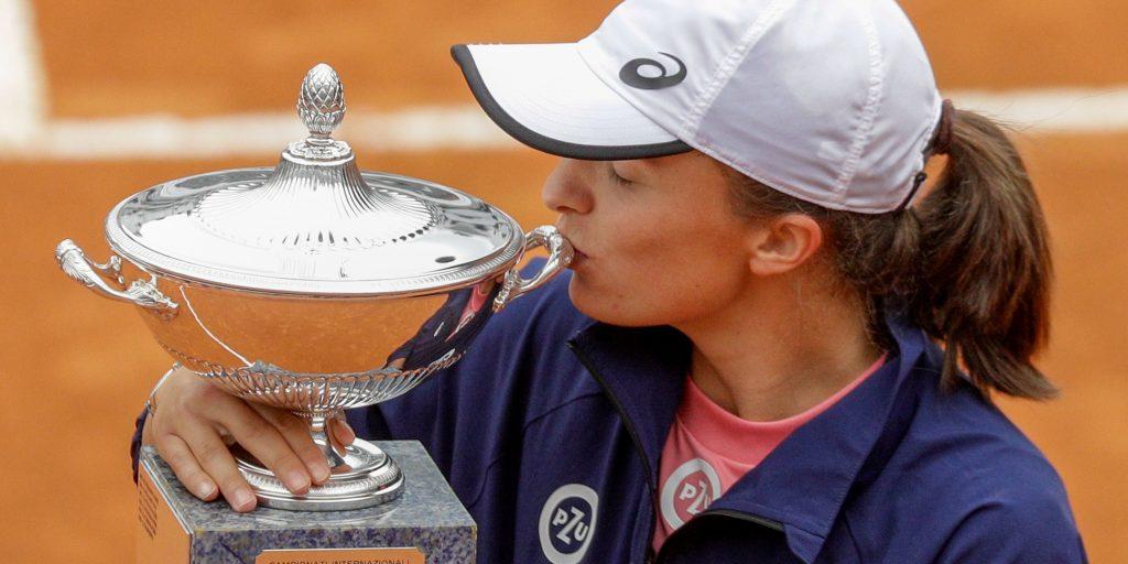 Iga Swiatek Italian Open champion